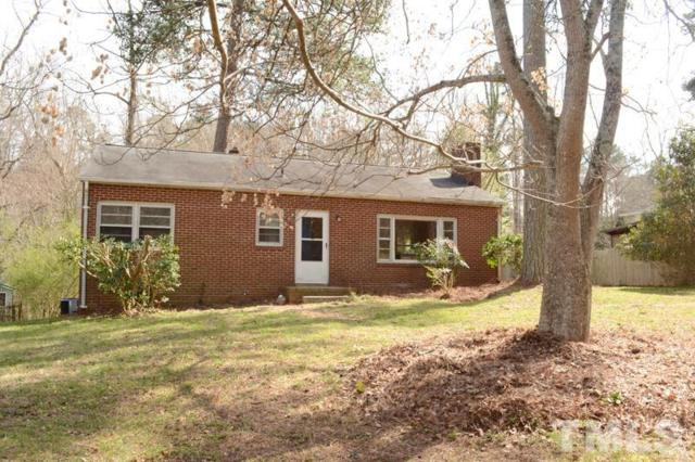 43 N Circle Drive, Chapel Hill, NC 27516 (#2242865) :: Rachel Kendall Team