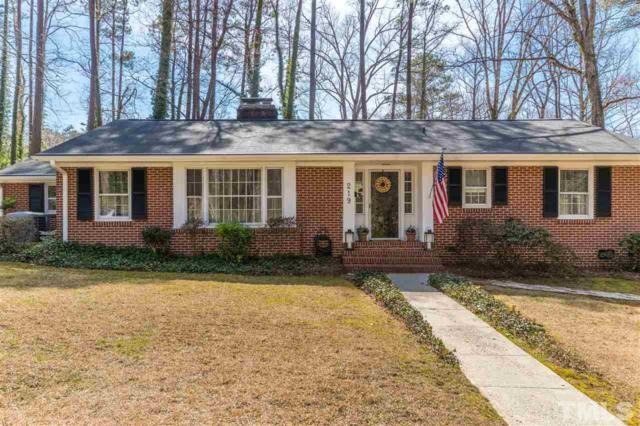 219 W Vernon Avenue, Wake Forest, NC 27587 (#2243378) :: The Perry Group