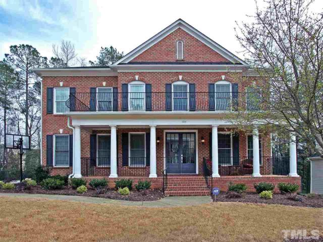 107 Aspenridge Drive, Holly Springs, NC 27540 (#2243662) :: The Perry Group