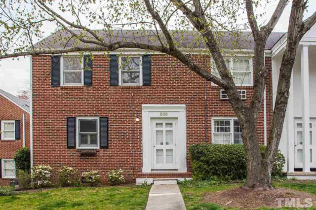 836 Bryan Street -, Raleigh, NC 27609 (#2243764) :: The Perry Group