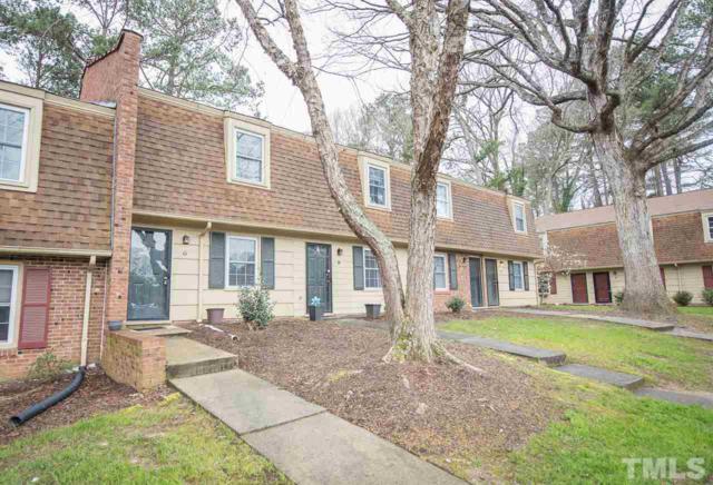 4703 Bluebird Court G, Raleigh, NC 27606 (#2244010) :: The Jim Allen Group