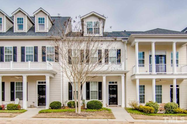 1022 Christopher, Chapel Hill, NC 27517 (MLS #2244136) :: The Oceanaire Realty