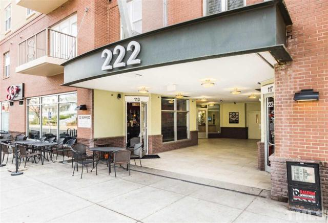 222 Glenwood Avenue #315, Raleigh, NC 27603 (#2244282) :: The Perry Group