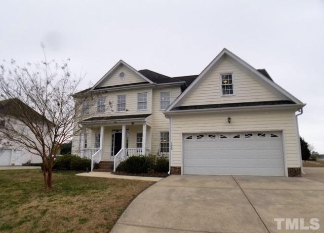 2900 Oak Bridge Drive, Raleigh, NC 27610 (#2244652) :: Raleigh Cary Realty