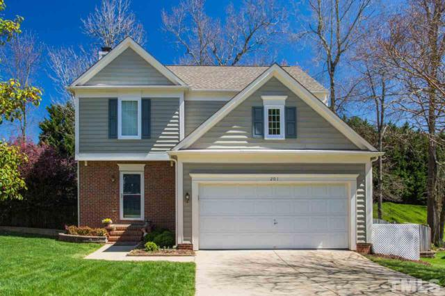 201 Ashley Brook Court, Cary, NC 27513 (#2246602) :: The Perry Group