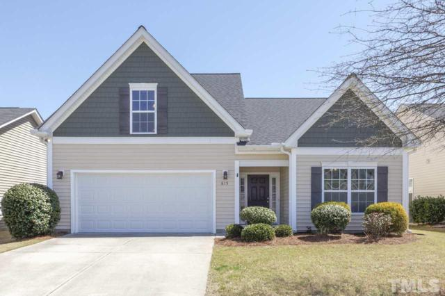 615 Bristlecone Pine Drive, Fuquay Varina, NC 27526 (#2246793) :: The Perry Group