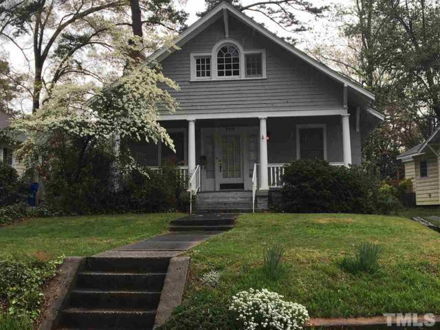 2219 The Circle, Raleigh, NC 27608 (#2246907) :: Dogwood Properties