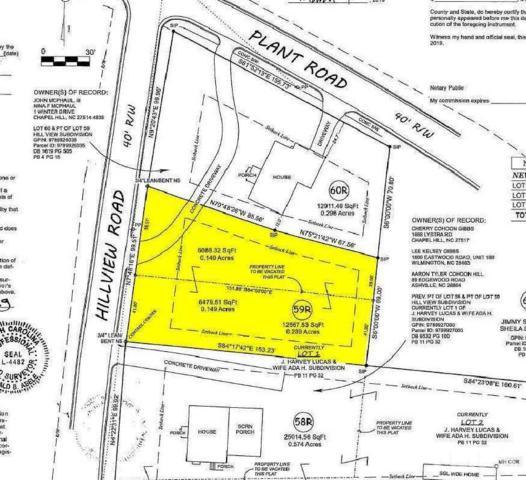 1220 Hillview Road, Chapel Hill, NC 27514 (#2246918) :: Morgan Womble Group