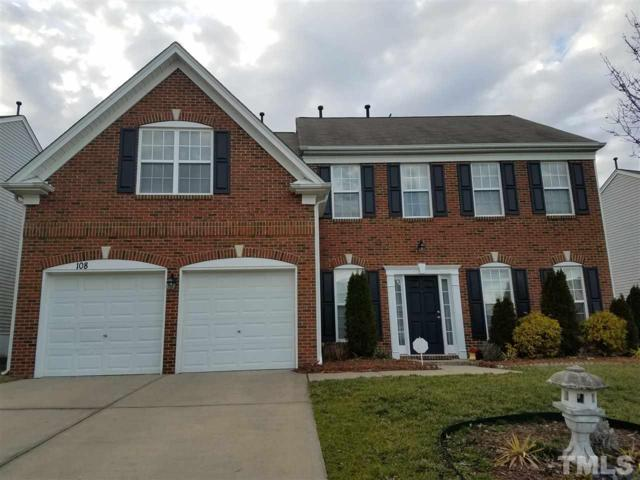 108 Acapella Lane, Morrisville, NC 27560 (#2248557) :: The Perry Group