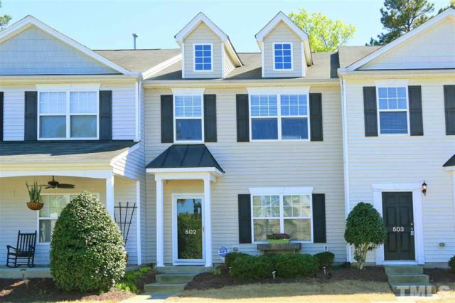 1725 Tw Alexander Drive #502, Durham, NC 27703 (#2249294) :: The Jim Allen Group