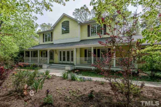 1004 Maple Ridge Road, Chapel Hill, NC 27516 (#2249837) :: Spotlight Realty