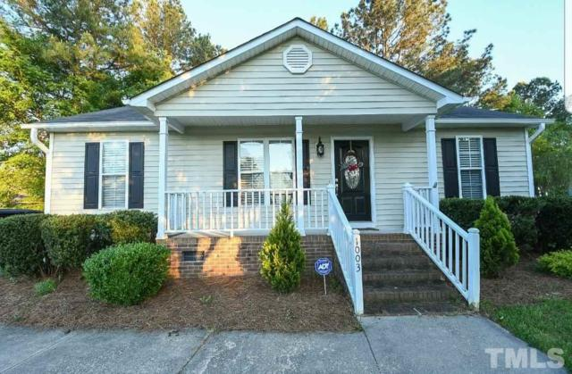 1003 Craftway Court, Knightdale, NC 27545 (#2250323) :: M&J Realty Group