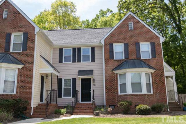 15 Forest Glenn Drive #15, Chapel Hill, NC 27517 (#2250351) :: Real Estate By Design