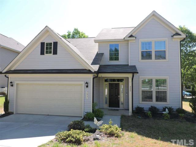 285 Clubhouse Drive, Youngsville, NC 27596 (#2251340) :: Raleigh Cary Realty