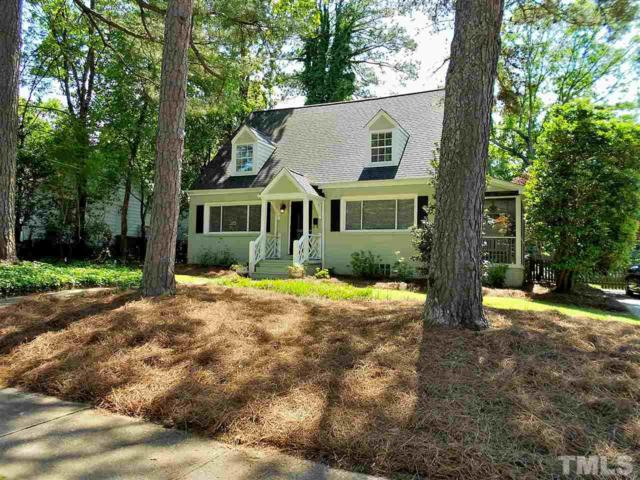 3307 Hall Place, Raleigh, NC 27607 (#2251838) :: Marti Hampton Team - Re/Max One Realty