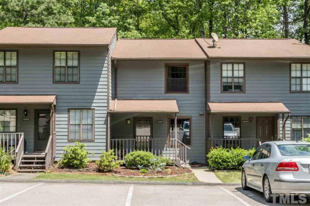 4237 The Oaks Drive #4237, Raleigh, NC 27606 (#2253622) :: Raleigh Cary Realty