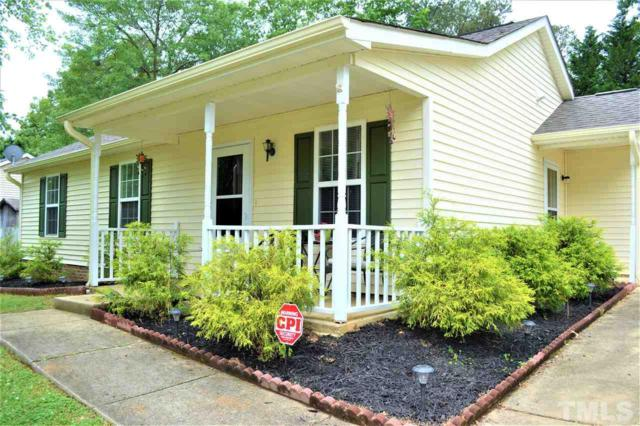 124 Holly Mountain Road, Holly Springs, NC 27540 (#2253694) :: Marti Hampton Team - Re/Max One Realty