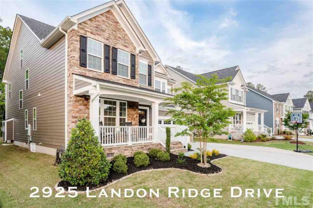 2925 Landon Ridge Drive, New Hill, NC 27562 (#2253765) :: Marti Hampton Team - Re/Max One Realty