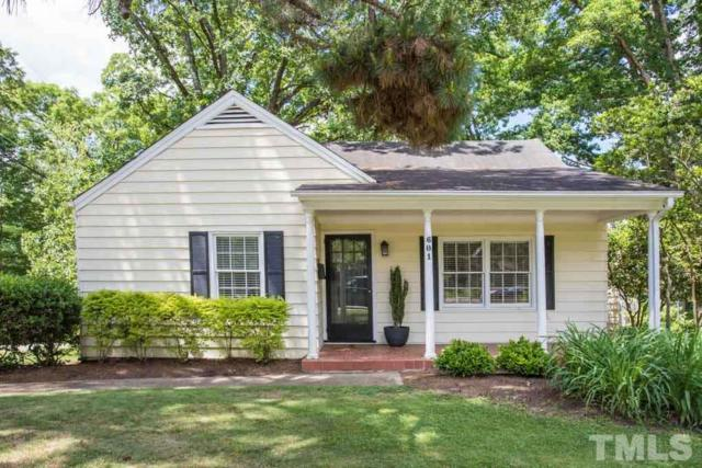 601 Dixie Trail, Raleigh, NC 27607 (#2254777) :: Dogwood Properties