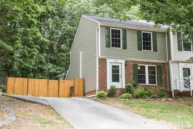 329 Glencoe Drive, Wake Forest, NC 27587 (#2255999) :: Sara Kate Homes