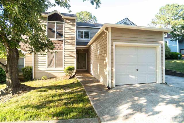 14 Hearthwood Circle, Durham, NC 27713 (#2256211) :: Marti Hampton Team - Re/Max One Realty
