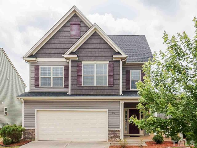 916 Custom Oak Lane, Fuquay Varina, NC 27526 (#2257312) :: The Jim Allen Group