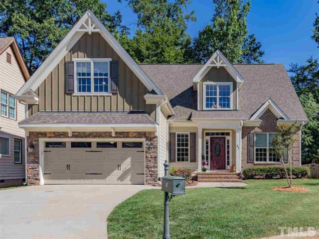 47 Old Post Court, Pittsboro, NC 27312 (#2259363) :: Raleigh Cary Realty