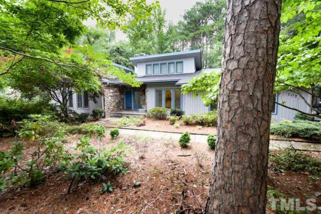 107 Nottingham Drive, Chapel Hill, NC 27517 (#2260975) :: Dogwood Properties