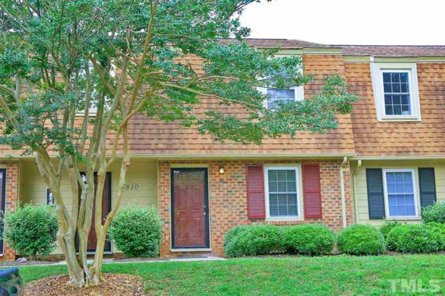 4810D Blue Bird Court D, Raleigh, NC 27606 (#2261154) :: Real Estate By Design