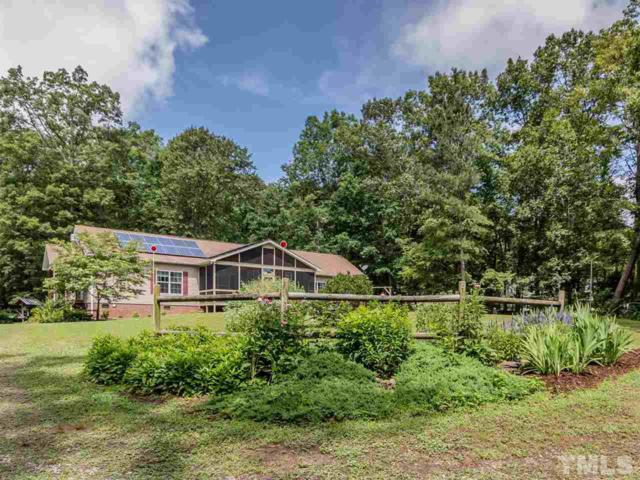 1409 Buckner Clark Road, Pittsboro, NC 27312 (#2262183) :: Real Estate By Design