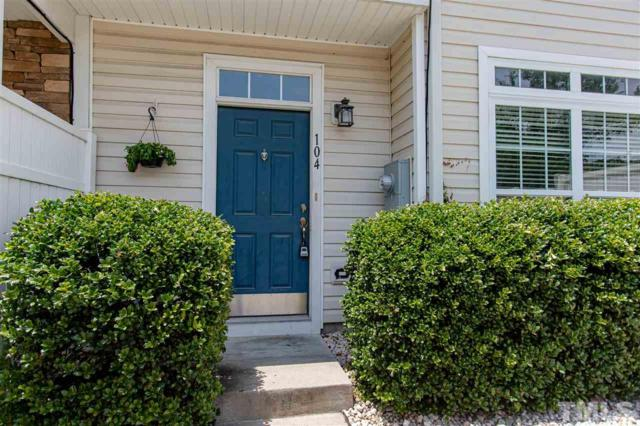 11701 Coppergate Drive #104, Raleigh, NC 27614 (#2263171) :: Dogwood Properties