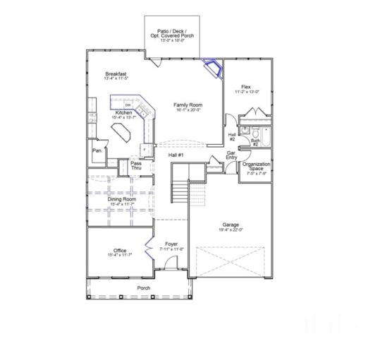 2320 Redbridge Lane #25, Apex, NC 27502 (#2263573) :: M&J Realty Group