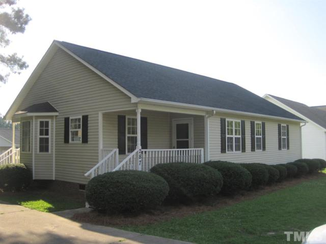 287 N Hickory, Angier, NC 27501 (#2264067) :: The Perry Group