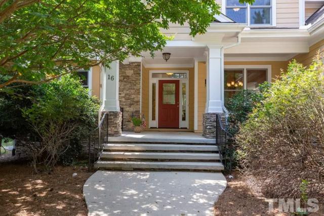 16 Emerald Crest Point, Chapel Hill, NC 27516 (#2264382) :: The Amy Pomerantz Group