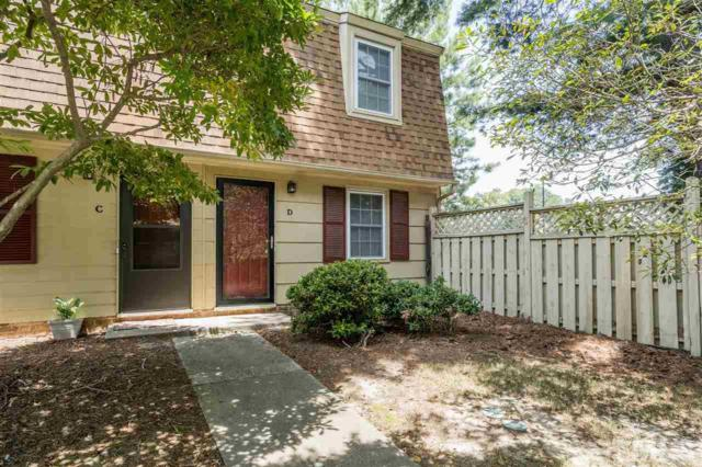 4818 Blue Bird Court D, Raleigh, NC 27606 (#2264905) :: Sara Kate Homes