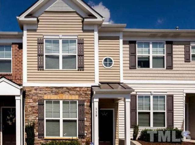 100 Stratford Lakes Drive #339, Durham, NC 27713 (#2265455) :: Sara Kate Homes