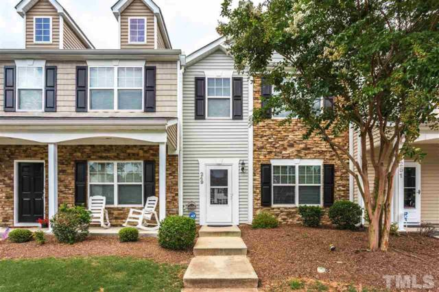 249 Hampshire Downs Drive, Morrisville, NC 27560 (#2265969) :: The Perry Group