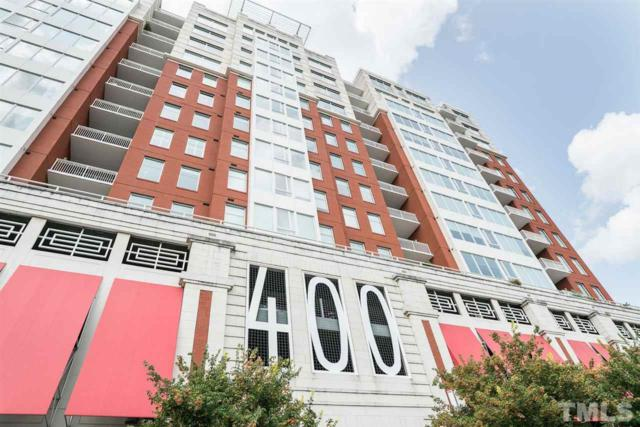 400 W North Street #608, Raleigh, NC 27603 (#2266998) :: M&J Realty Group