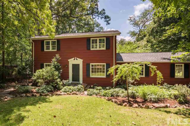 112 Cynthia Drive, Chapel Hill, NC 27514 (#2267034) :: Morgan Womble Group
