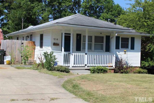 914 Corona Street, Durham, NC 27707 (#2267219) :: Rachel Kendall Team