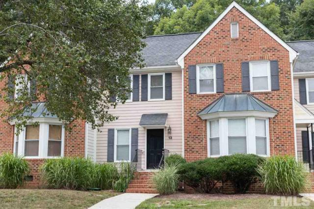13 Forest Glen Drive #13, Chapel Hill, NC 27517 (#2267412) :: Team Ruby Henderson