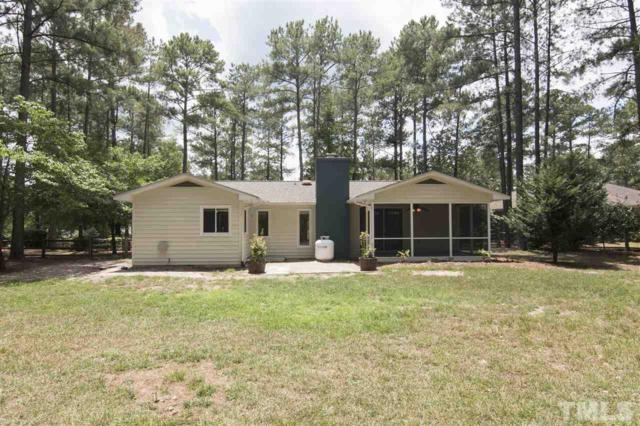 25 Shadow Lane, Whispering Pines, NC 28327 (#2267586) :: M&J Realty Group