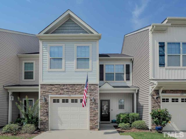135 Beaconwood Lane, Holly Springs, NC 27540 (#2267723) :: Rachel Kendall Team