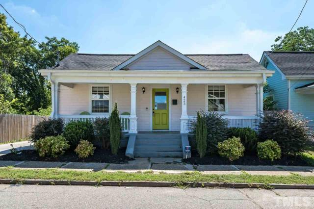 423 S Haywood Street, Raleigh, NC 27601 (#2268057) :: M&J Realty Group