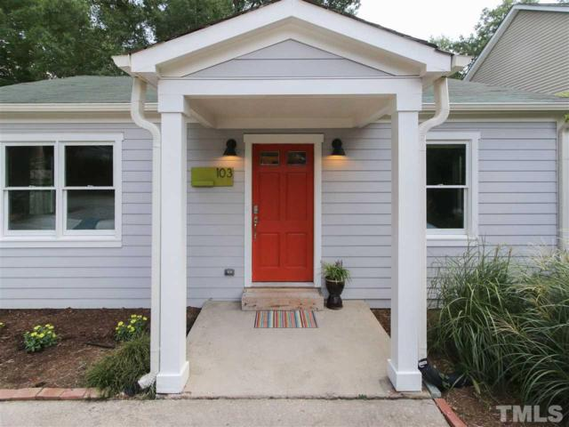 103 Colson Street, Carrboro, NC 27510 (#2268266) :: RE/MAX Real Estate Service