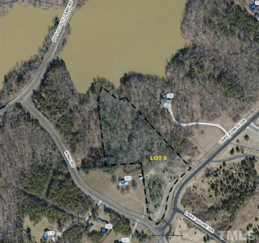 Lot 3 Lake Pointe Drive, Yanceyville, NC 27379 (#2268354) :: The Results Team, LLC