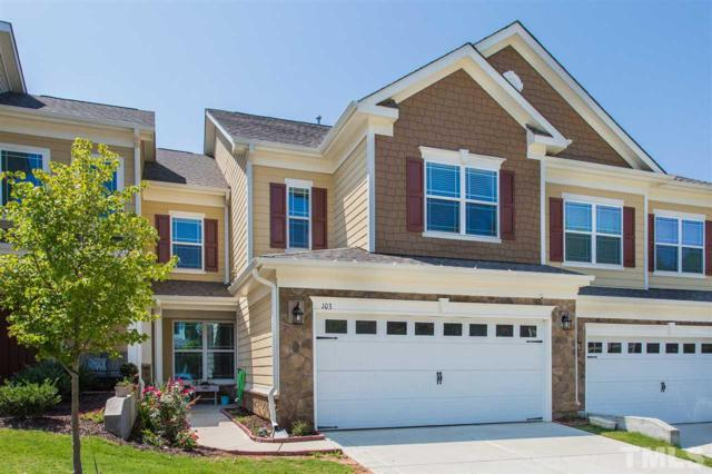 103 Willow View Lane, Apex, NC 27539 (#2268526) :: The Amy Pomerantz Group
