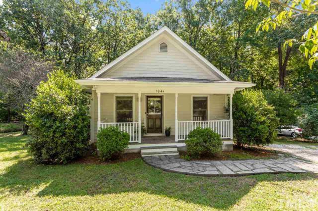 104 Hillcrest Avenue A, Carrboro, NC 27510 (#2269045) :: Dogwood Properties