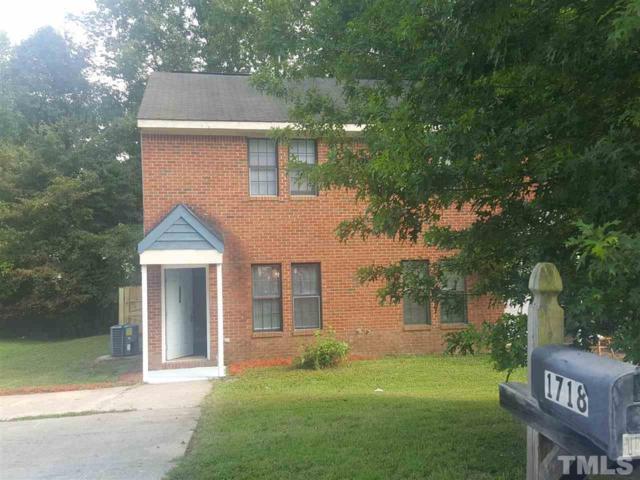 1718 Fox Hollow Drive, Raleigh, NC 27610 (#2271963) :: Rachel Kendall Team