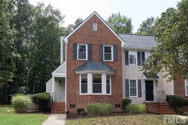 12 Forest Glen Drive #12, Chapel Hill, NC 27517 (#2272572) :: The Jim Allen Group